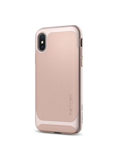 Spigen iPhone XS / iPhone X Kılıf, Spigen Neo Hybrid Renkli